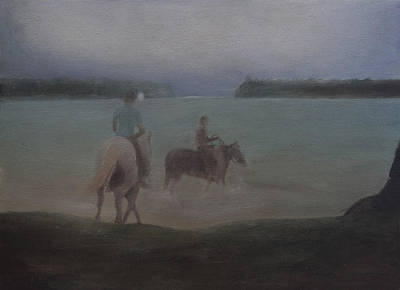 Painting - Horse Riding by Masami Iida