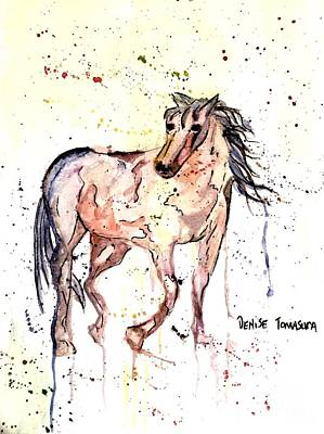 Painting - Horse Seekers by Denise Tomasura