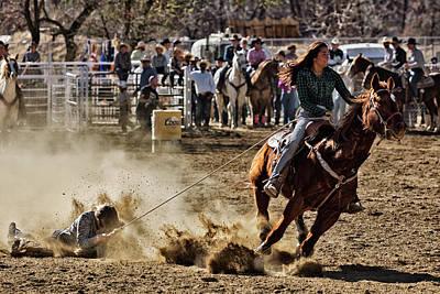Photograph - Horse Slide 2 by John Swartz