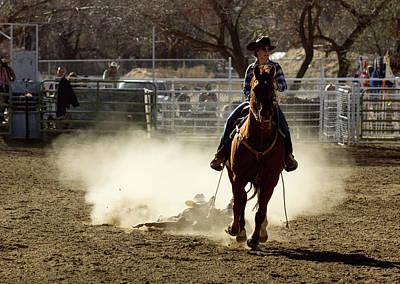 Photograph - Horse Slide 3 by John Swartz