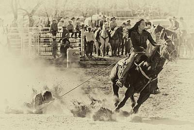 Photograph - Horse Slide 4 by John Swartz