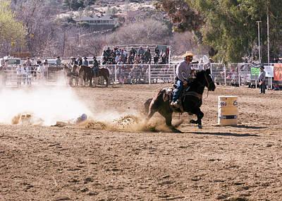 Photograph - Horse Slide by John Swartz