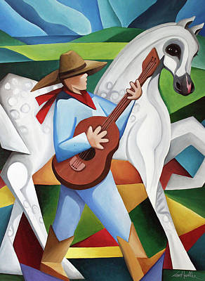 Painting - Horse Song by Lance Headlee