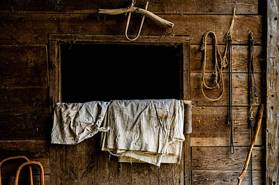 Photograph - Horse Stall by M G Whittingham
