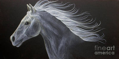 Horse Painting - Horse by Susan Clausen