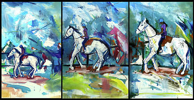 Painting - Horse Three by John Jr Gholson
