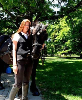 Photograph - Horse Tour Niagara Falls by Cyryn Fyrcyd