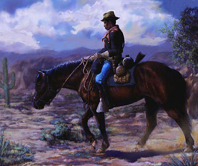 Painting - Horse Trainer by Harvie Brown