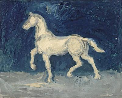 Race Horse Painting - Horse by Vincent Van Gogh