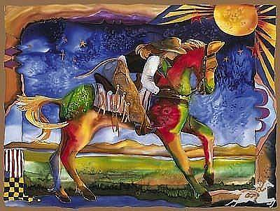 Painting - Horse Whisperer by Nancy Cawdrey