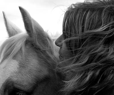 Photograph - Horse Whispers by Bryan Davies