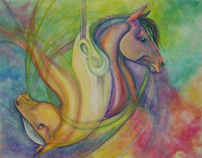 Horsehead Jojo Original by Caroline Czelatko