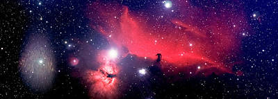 Photograph - Horsehead Nebula Panorama by Jim DeLillo