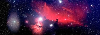 Keith Richards - Horsehead Nebula Panorama by Jim DeLillo