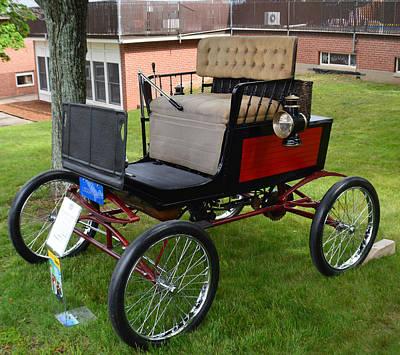 Horseless Carriage-c Art Print
