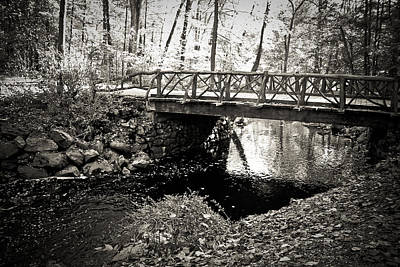 Photograph - Horseman's Bridge -sleepy Hollow by Colleen Kammerer