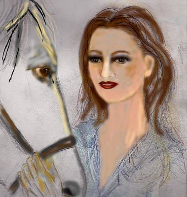Horse'n Around Art Print