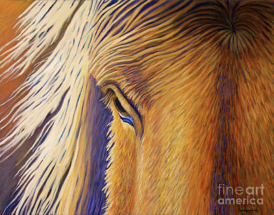 Wild Horse Painting - Horsepower by Brian  Commerford