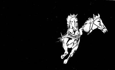 Painting - Horsepower by Tony Murray