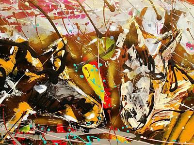 Spirit Of The Horses A Art Print