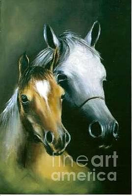 Painting - Horses by Tony Calleja