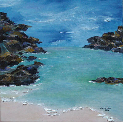 Painting - Horseshoe Bay, Bermuda by Judith Rhue