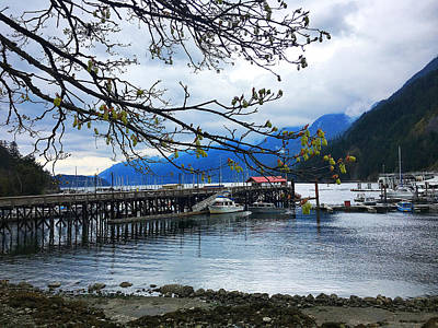 Photograph - Horseshoe Bay ... Early Spring  by Connie Handscomb