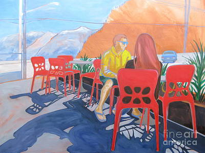Painting - Horseshoe Bay by Sandra Yuen MacKay