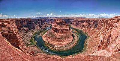 Horseshoe Bend - Colorado River Art Print by Andreas Freund