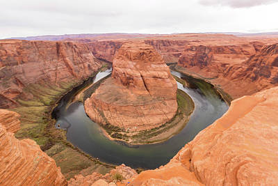 Photograph - Horseshoe Bend, Arizona by Josef Pittner
