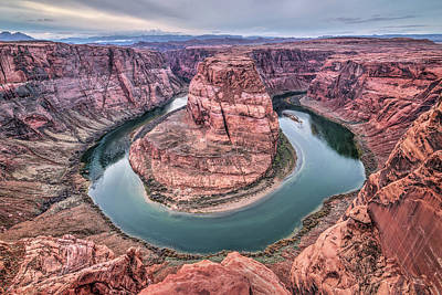 Photograph - Horseshoe Bend Arizona by Todd Aaron