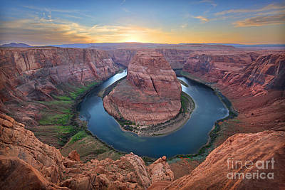 Photograph - Horseshoe Bend Colorado River Arizona by Martin Konopacki