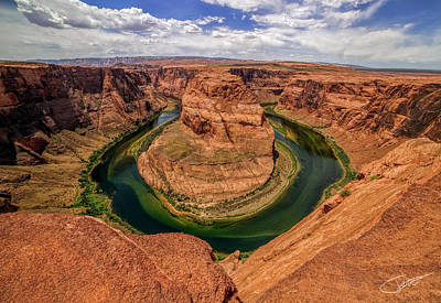 Photograph - Horseshoe Bend by Jeff Niederstadt
