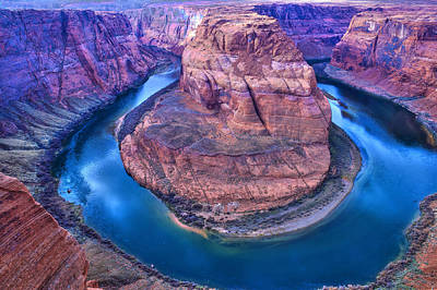 Photograph - Horseshoe Bend by Kobby Dagan