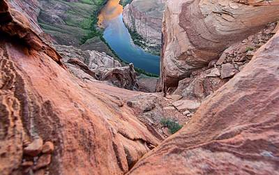 Photograph - Horseshoe Bend Lookdown by Rand