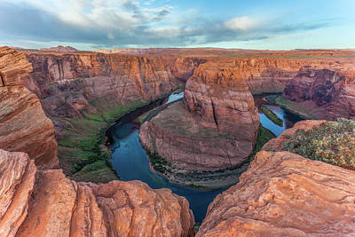 Photograph - Horseshoe Bend Morning Splendor by Lon Dittrick