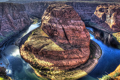 Photograph - Horseshoe Bend On The Colorado River I by Roger Passman