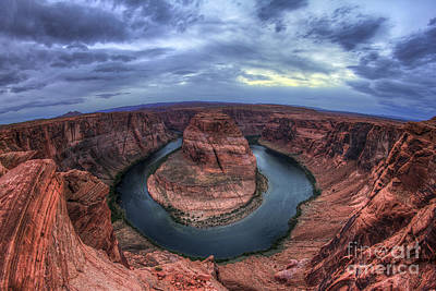 Photograph - Horseshoe Bend by Spencer Baugh