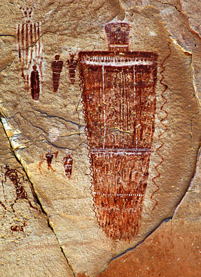 Horseshoe Canyon Pictographs Original by Ron Brown Photography
