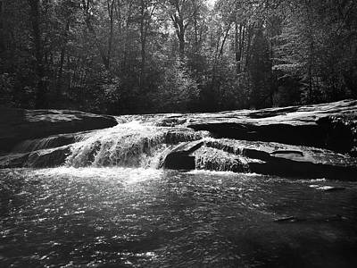 Photograph - Horseshoe Falls At Musgrove Mill Historic Site by Kelly Hazel