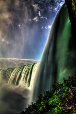 Photograph - Horseshoe Falls From Below No O2 by Roger Passman