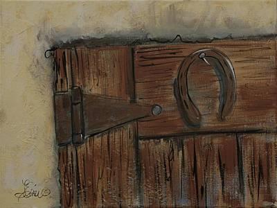 Painting - Horseshoe by Terri Einer