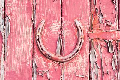 Scruffy Photograph - Horseshoe by Tom Gowanlock