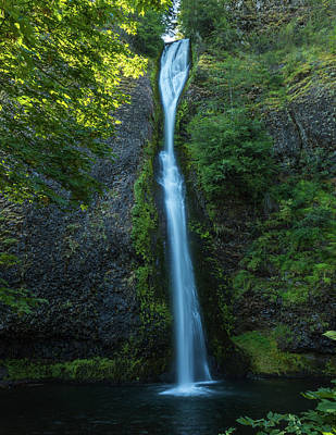 Photograph - Horsetail Falls by Brenda Jacobs