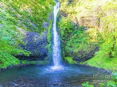 Photograph - Horsetail Falls by Jonny D