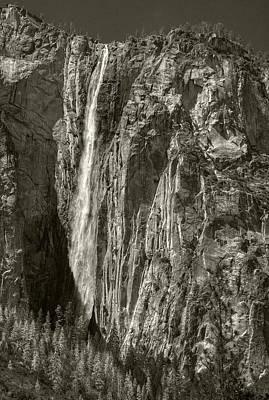 Photograph - Horsetail Falls by Michael Kirk