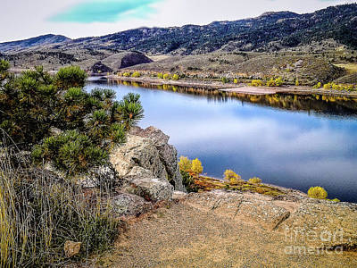 Horsetooth Autumn Art Print