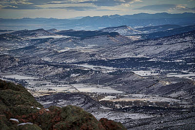Horsetooth Mountain Photograph - Horsetooth Mountain View by Paki O'Meara