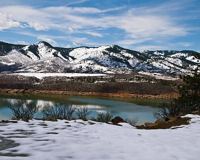 Photograph - Horsetooth Reservoir by Harry Strharsky