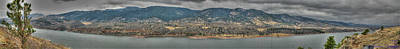 Horsetooth Reservoir Panoramic Hdr Art Print by Aaron Burrows
